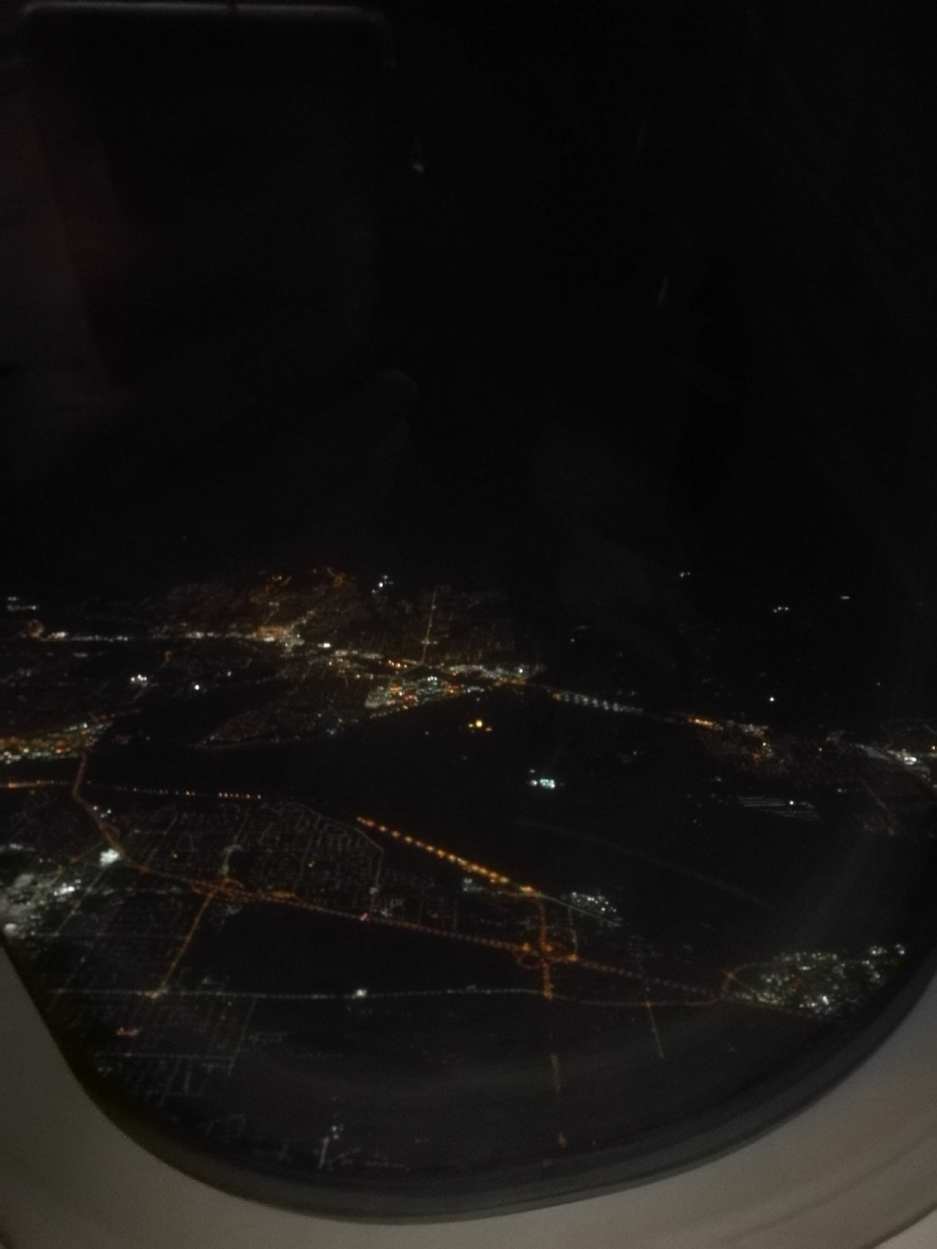 Flying out of Vancouver, Monday night
