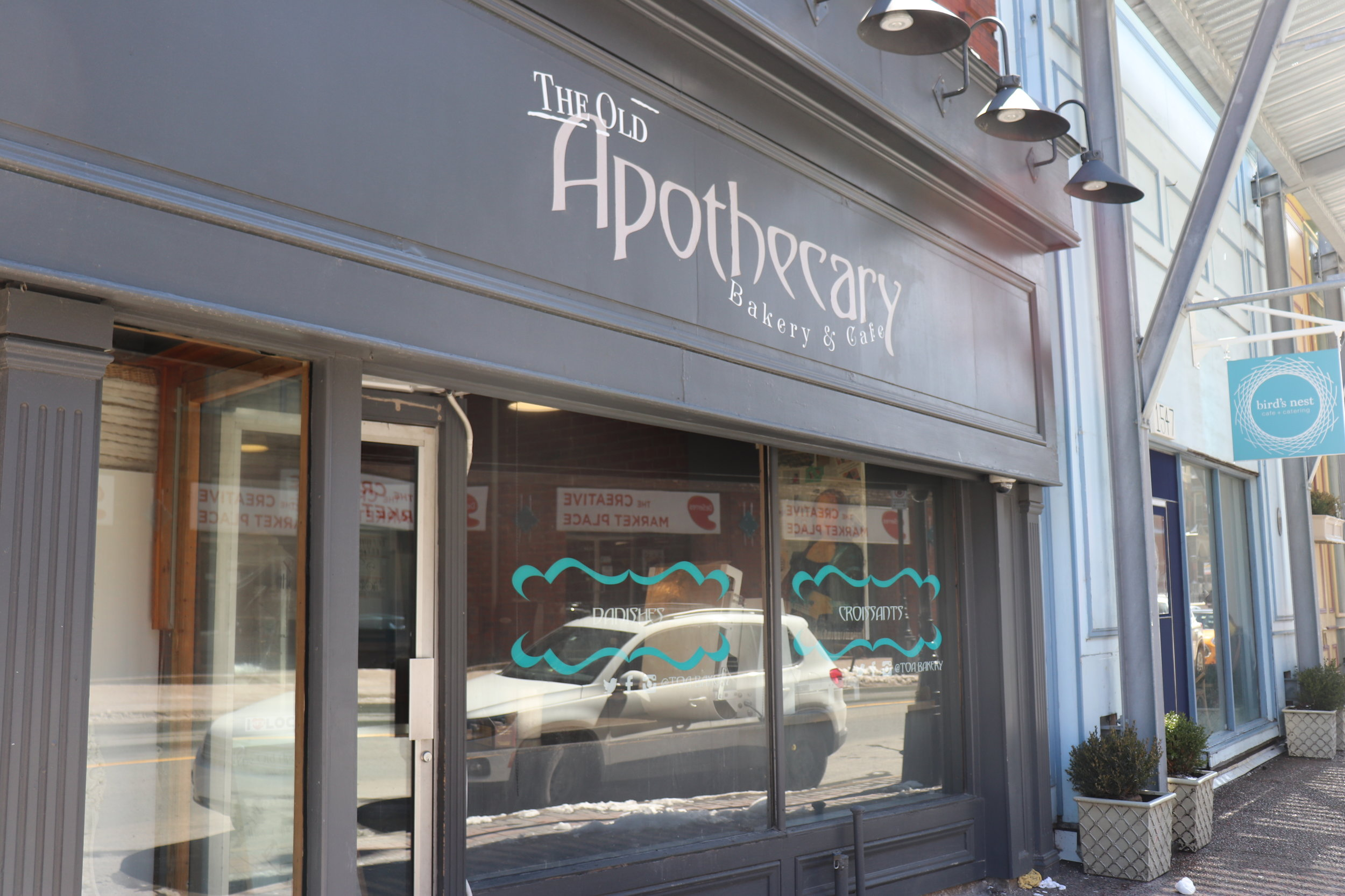 1. The Old Apothecary - Bakery and Cafe
