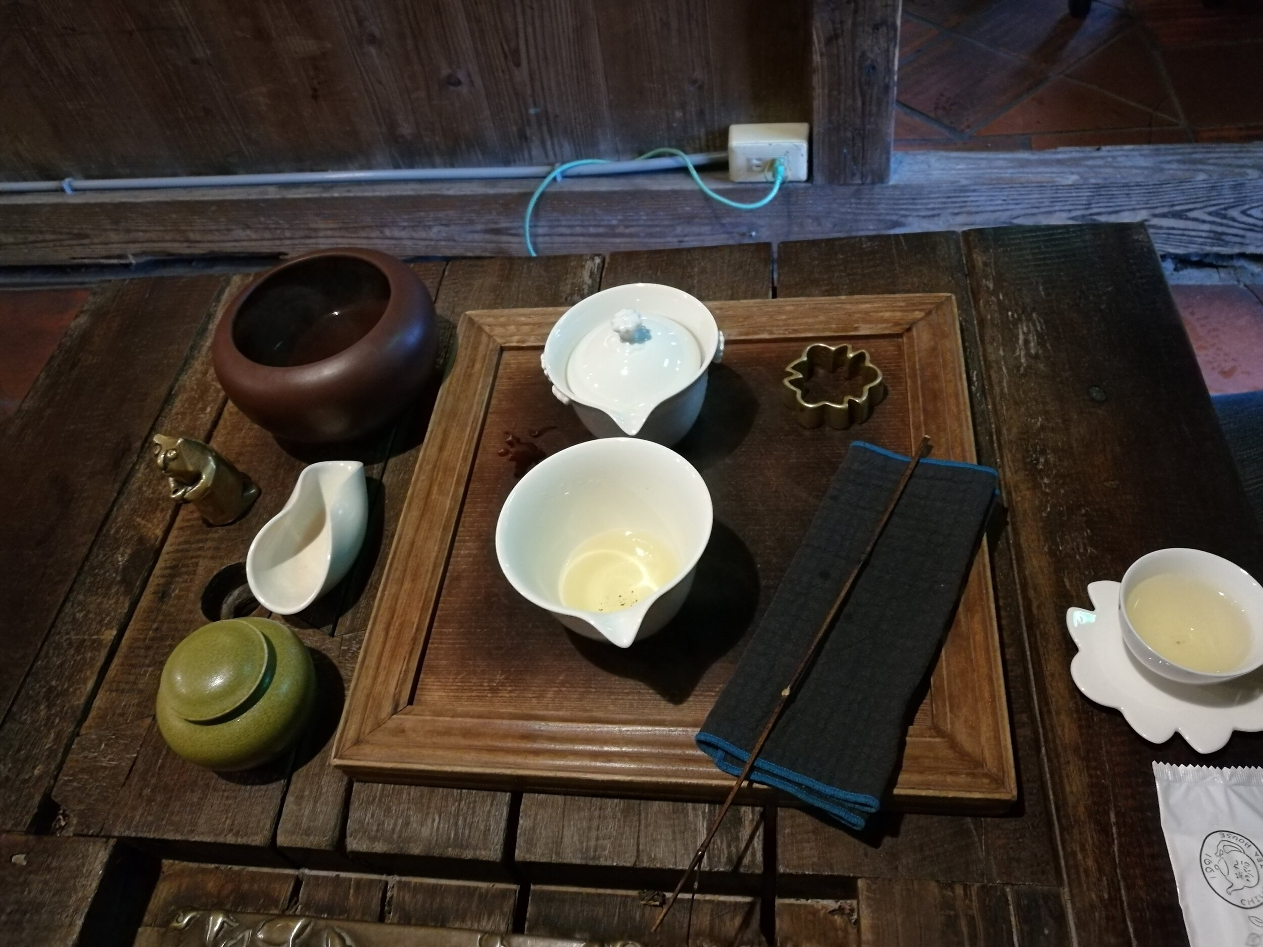 Traditional tea house experience