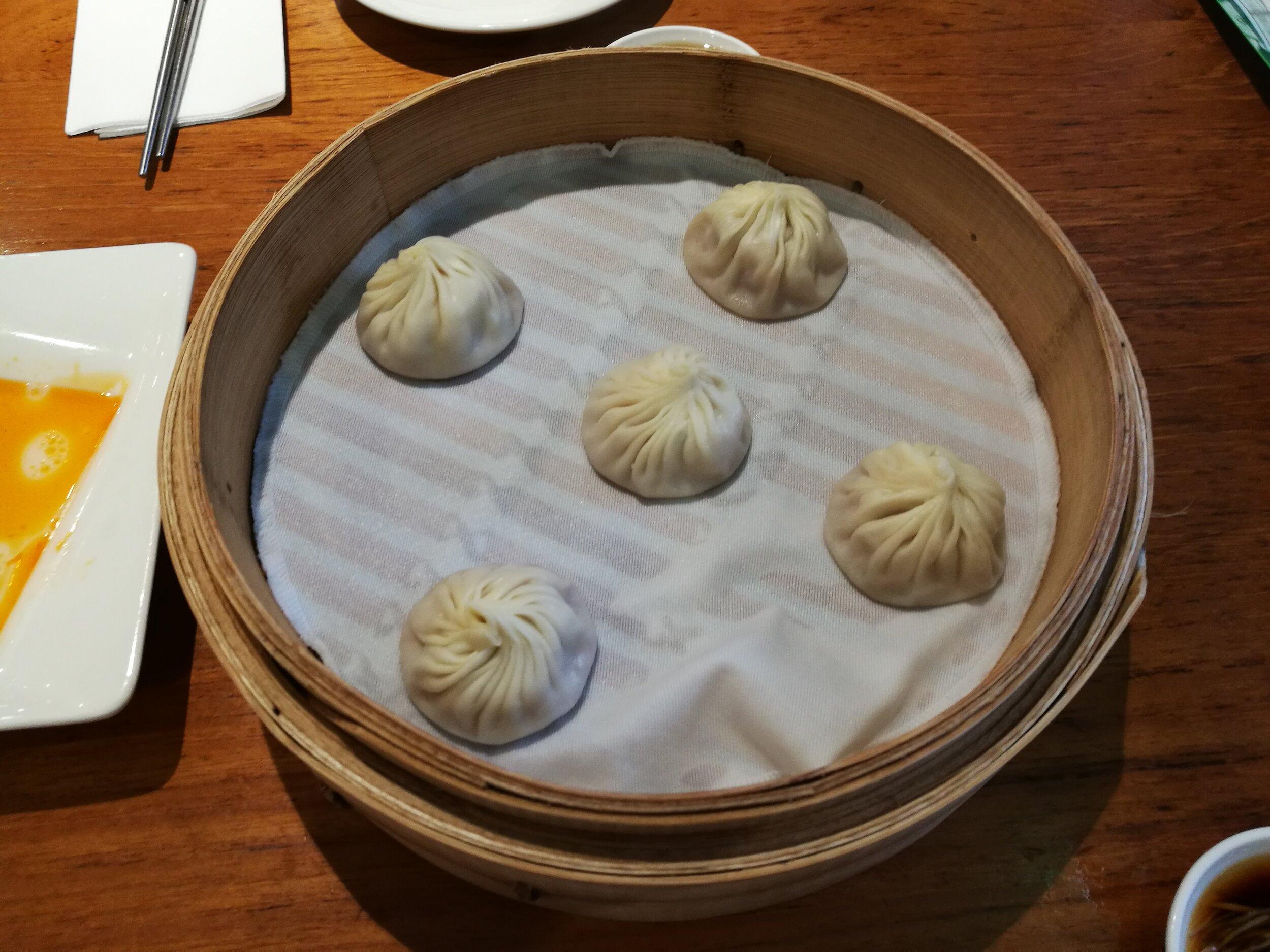 Delicious dumplings