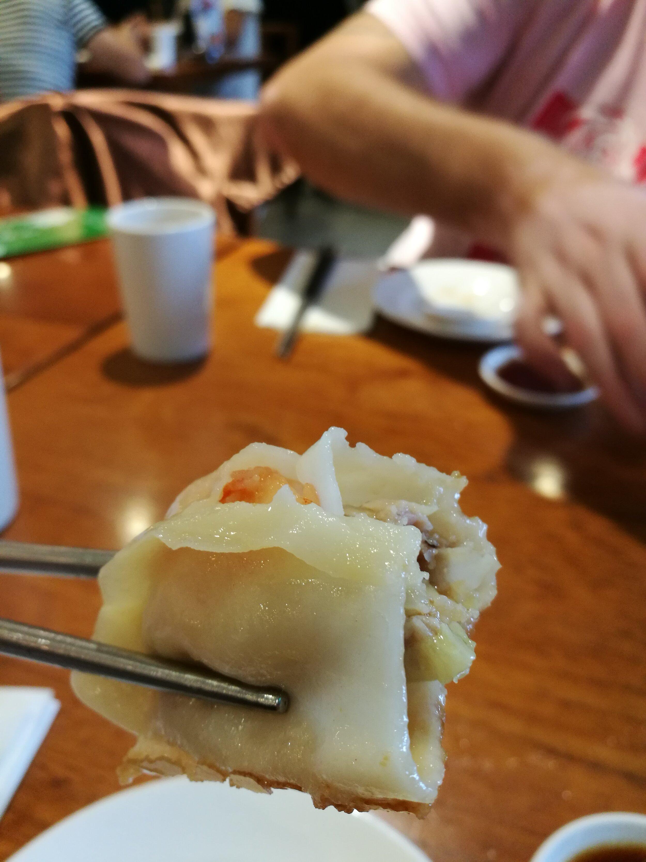 Dumpling up-close