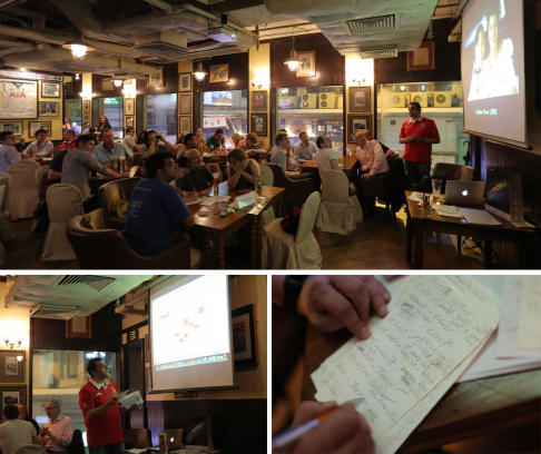 TRIVIAL PURSUITS: Delaney's in Wan Chai hosts one of the city's longest-surviving quiz nights every Wednesday.