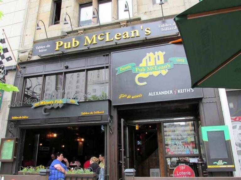 McLean's Pub   © mwms1916/Flickr