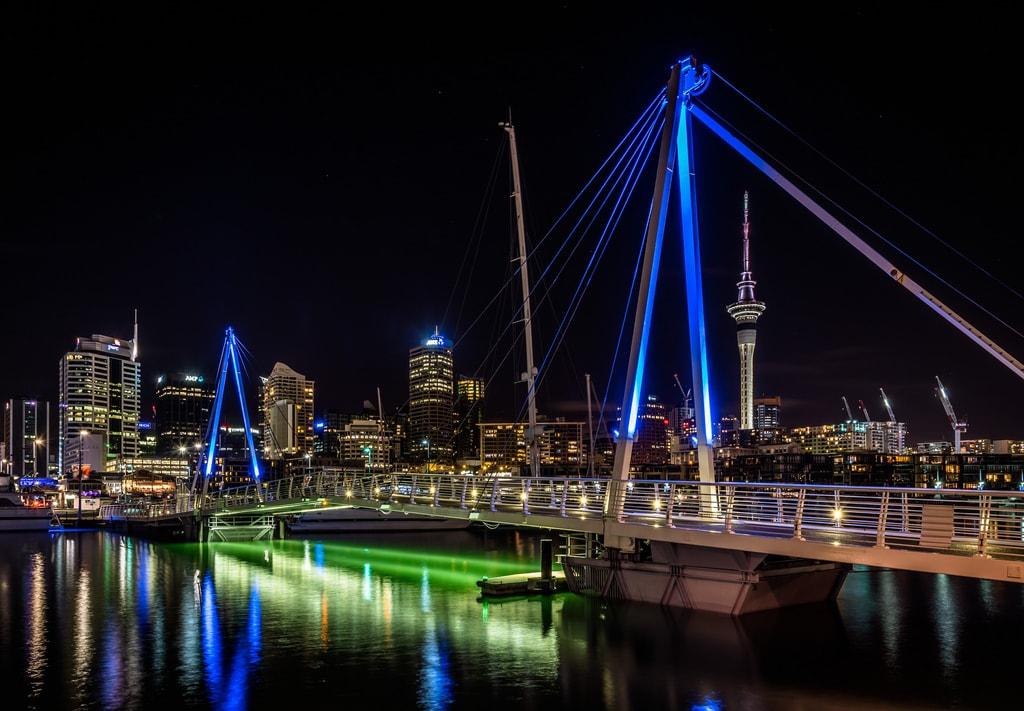 Auckland at Night | © James Faulkner/Flickr