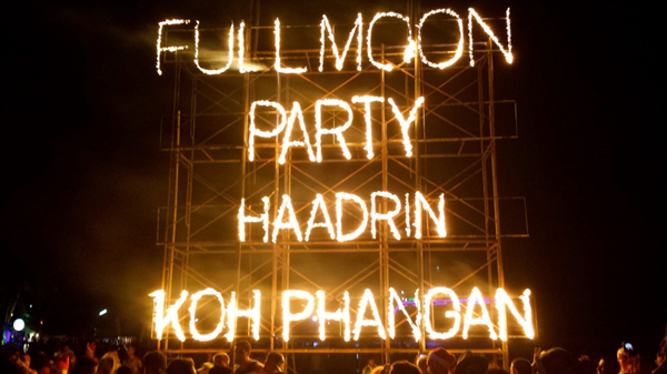 Full Moon Party, Koh Phangan