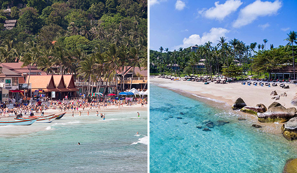 Koh Phangan vs Koh Samui. Where would you stay?
