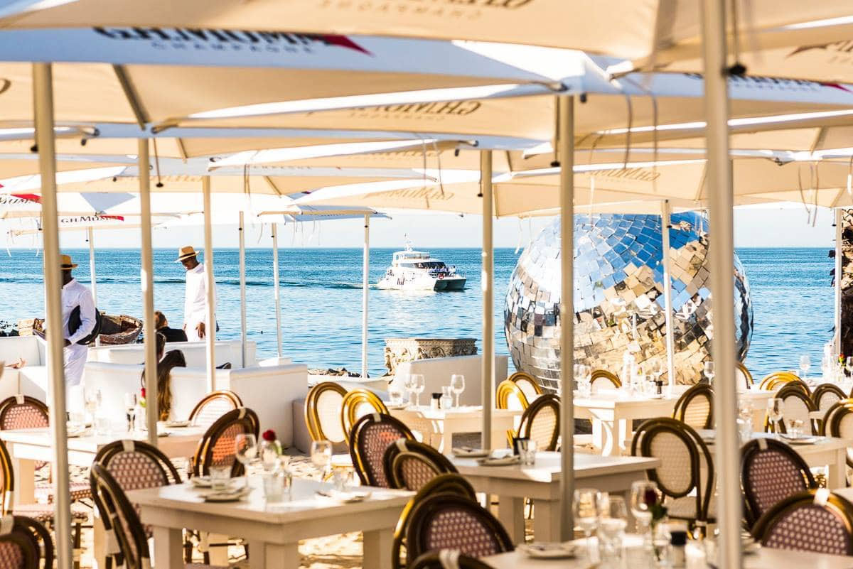If your idea of heaven is sitting with your toes curled in the sand while sipping a cocktail, be sure to head over to Grand Africa Café CREDIT: HEIN VAN TONDER/HEIN VAN TONDER