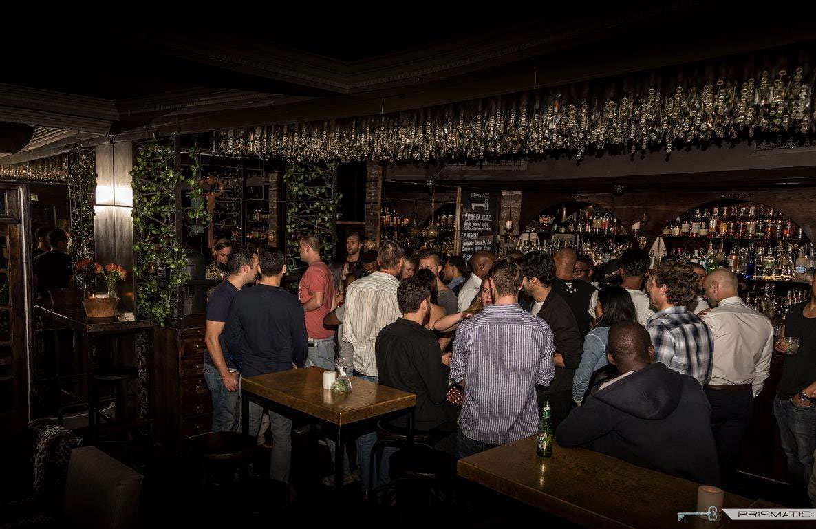 This tiny city-centre cocktail club, located on the corner of Orphan and Bree streets, is always buzzing CREDIT: PRISMATIC
