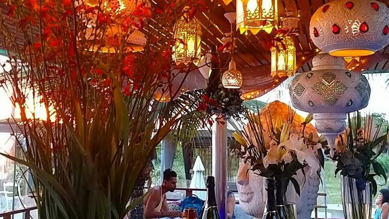 YNDÚ Beach Lounge in Leblon|Courtesy of YNDÚ Beach Lounge