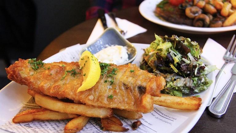 Fish and chips    © sharonang / Pixabay