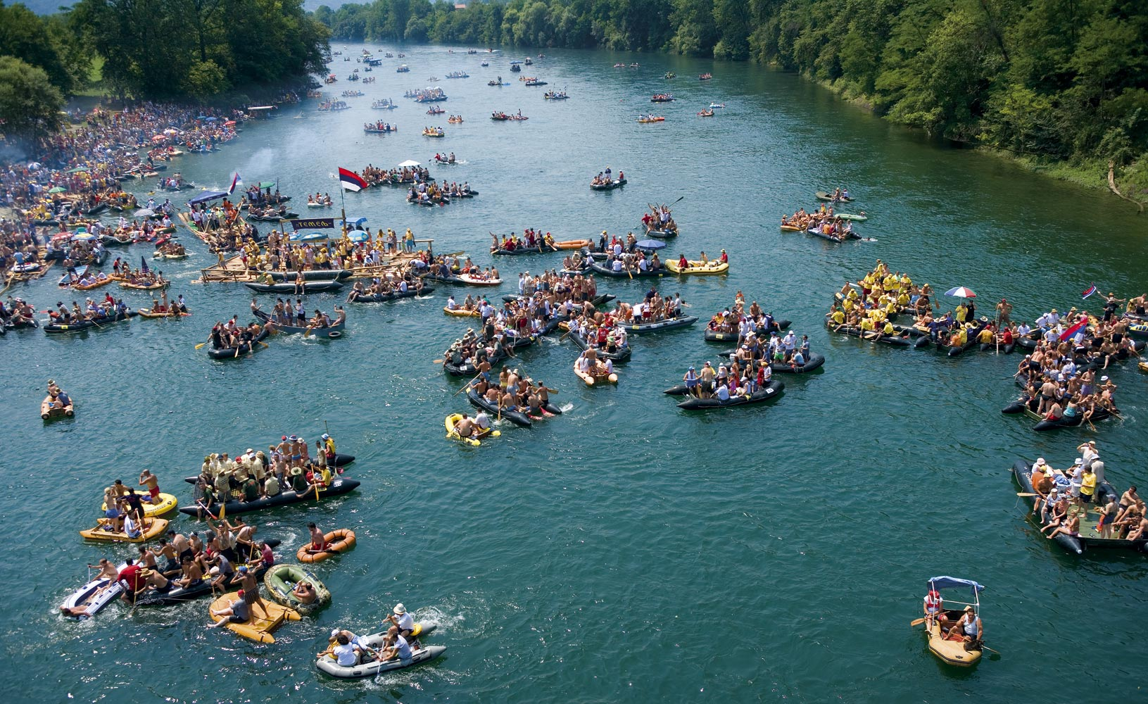 Drina Regatta, an unforgettable experience on the river of the emerald color