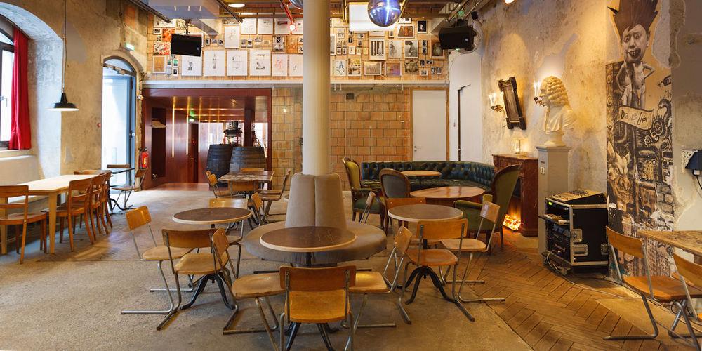 Best Bars Zurich ~ Cabaret Voltaire / Photo: cabaretvoltaire.ch