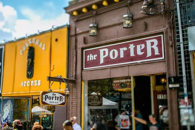 Photo courtesy of The Porter Beer Bar