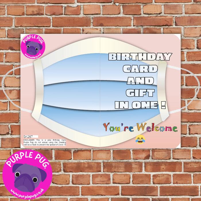 Happy Lockdown Birthday Cards