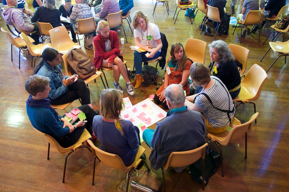 Listening to each other, Gloucester Sustainable Futures Convention 2019.