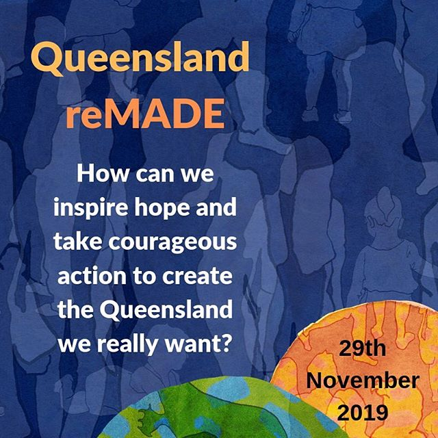 "Ahoy Queenslanders in and around Brisbane! . Building on the Australia reMADE vision, QCOSS, Common Cause Australia and ACF invite you to a hands-on gathering, drawing on the wisdom in the room, to start developing a vision, common agenda and key actions for change. . ""Imagine the power of a positive vision for Queensland, leading up to the next state election. In a politics of fear, we can show bold, visionary and practical ways forward. . Join us at this free gathering, a great opportunity to build relationships and identify first steps in worker together for bigger and deeper change."" . 29th November 9am - 12.30pm . All welcome! . More details at www.qcoss.org.au/events/Queensland-remade . . . . . #australiaremade #qcoss #acf #commoncause #vision #qld #queensland #activehope #auspol"