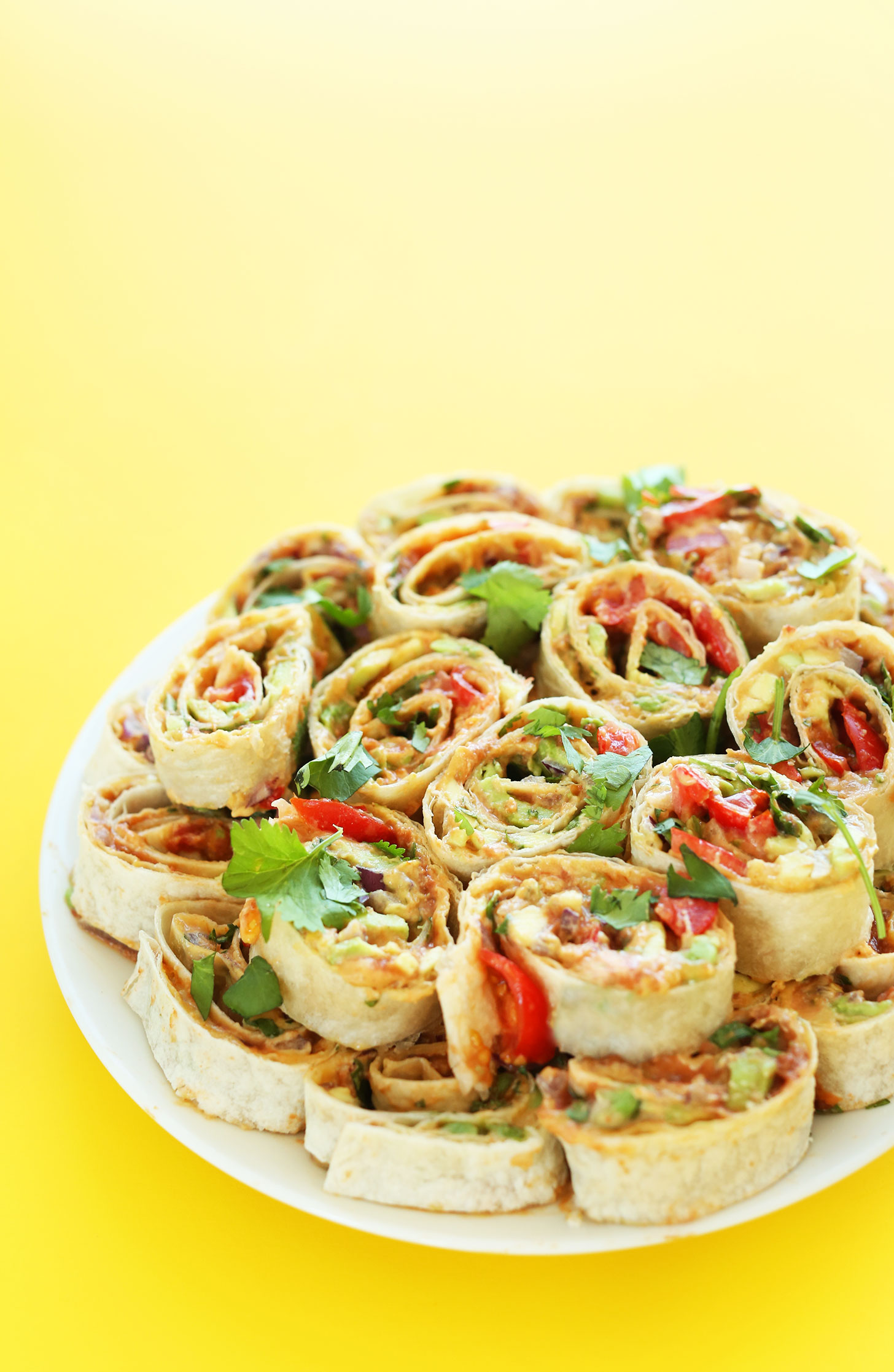 6-layer Mexican pinwheels by Minimalist Baker