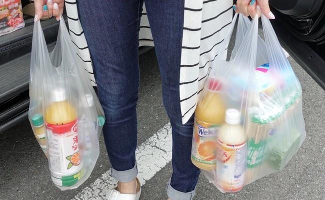 プラスチックのレジ袋:無償化を止める動き