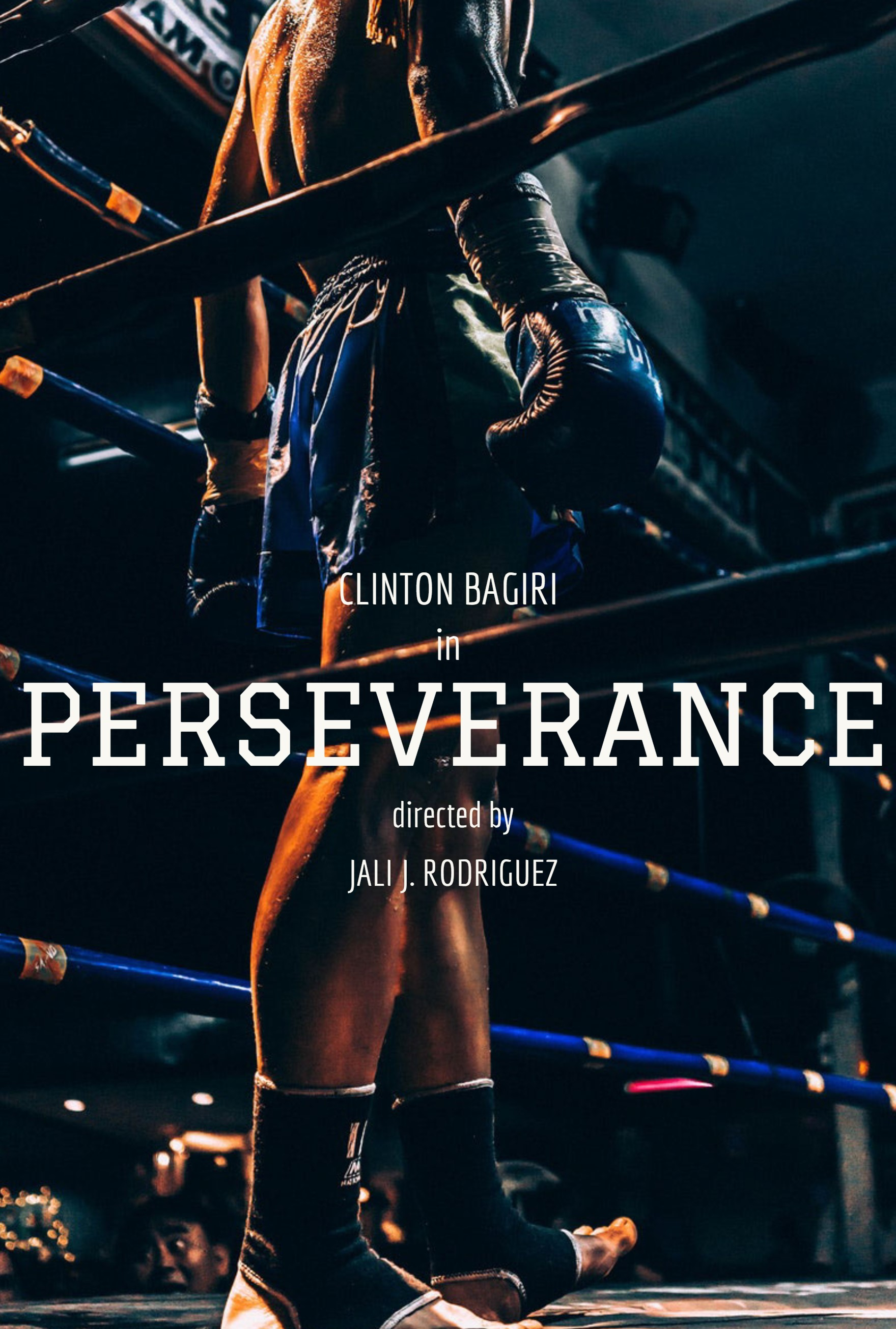 PERSEVERANCE - (Film)A young and up and coming fighter get's ready for a title fight, will his preparation be enough to overcome his opponent.Written and Directed by Jali RodriguezCinematography and Camera operation by Teko M. Win-Win
