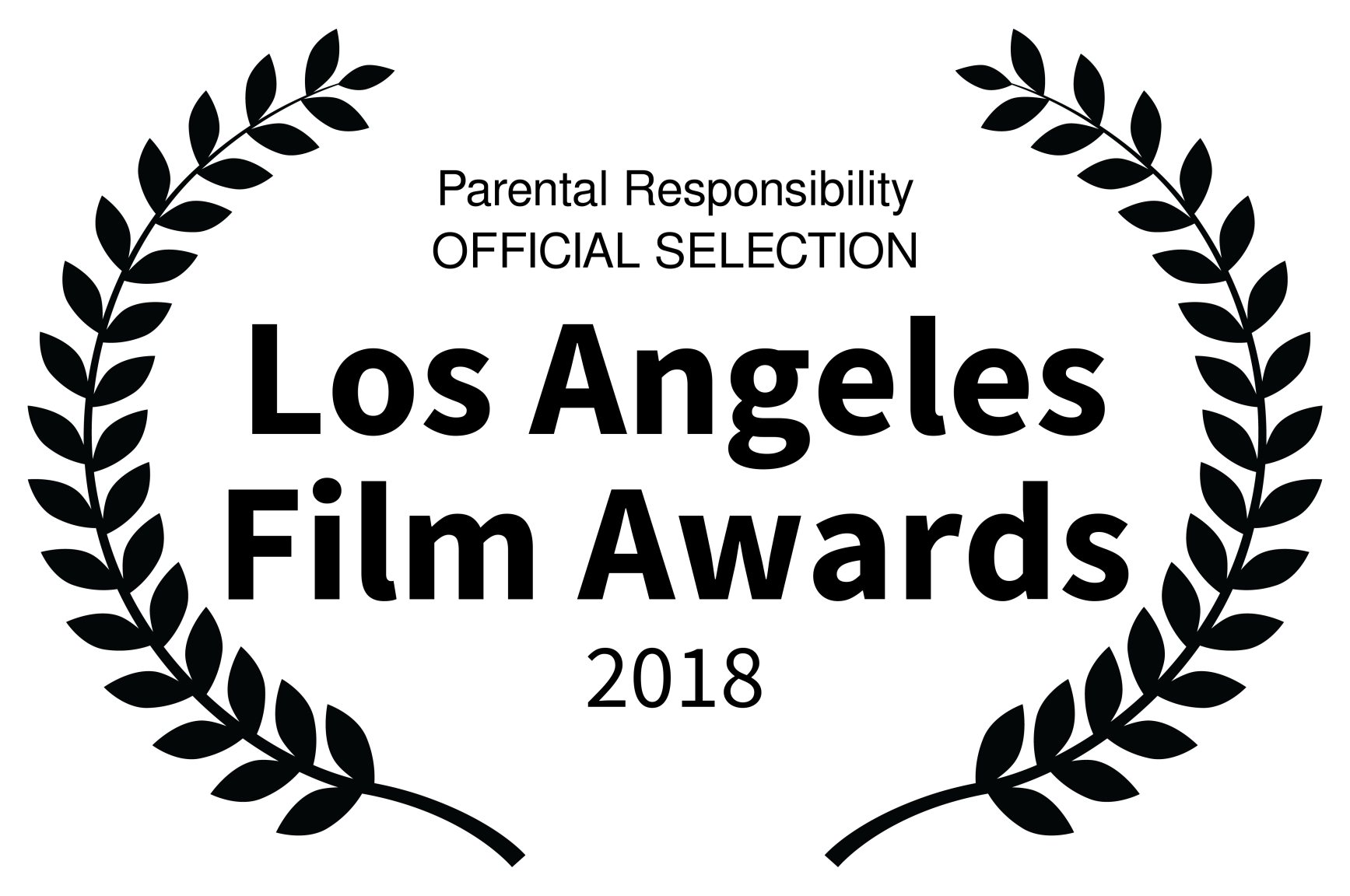 Parental Responsibility OFFICIAL SELECTION - Los Angeles Film Awards - 2018.png