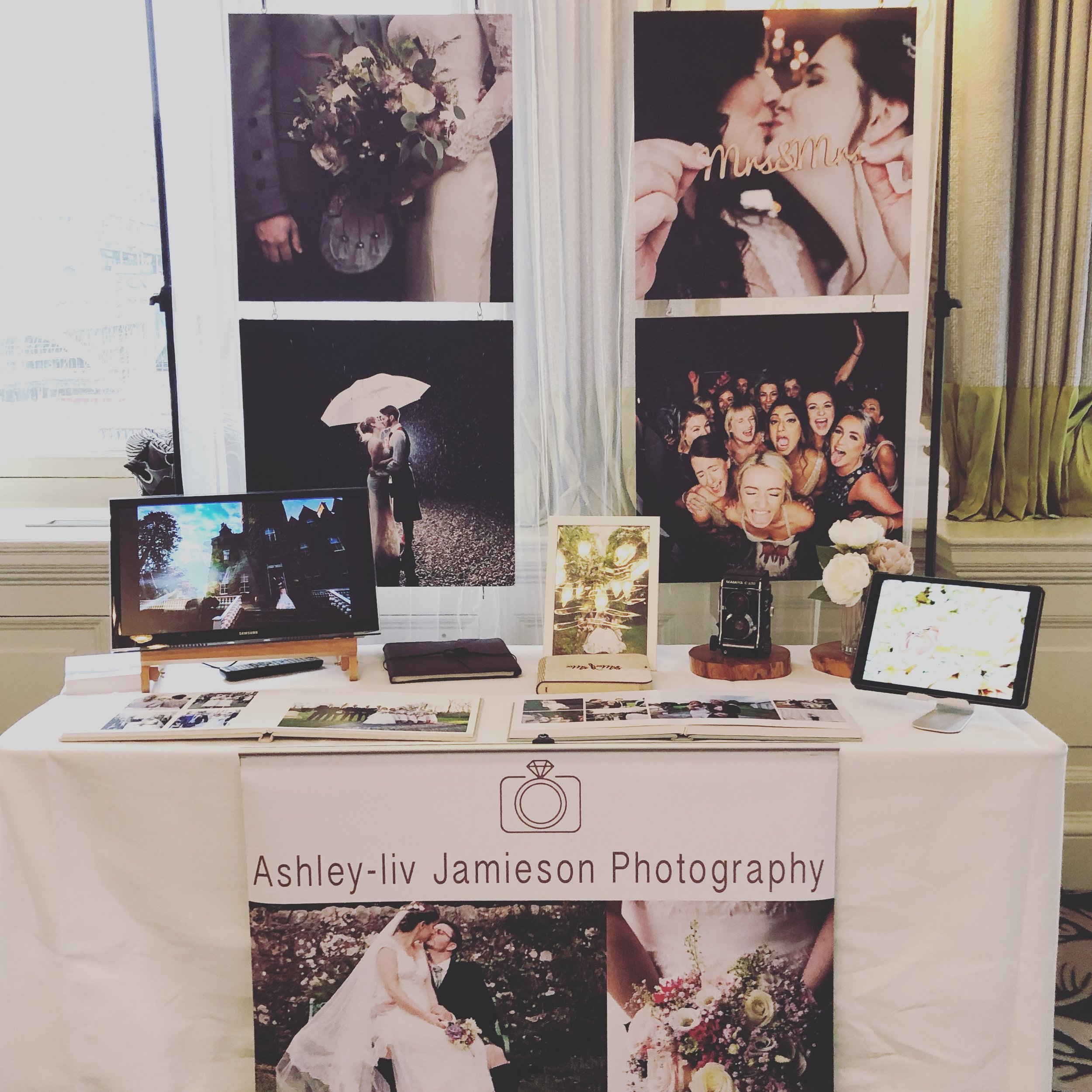 The luxury wedding fair at the balmoral.