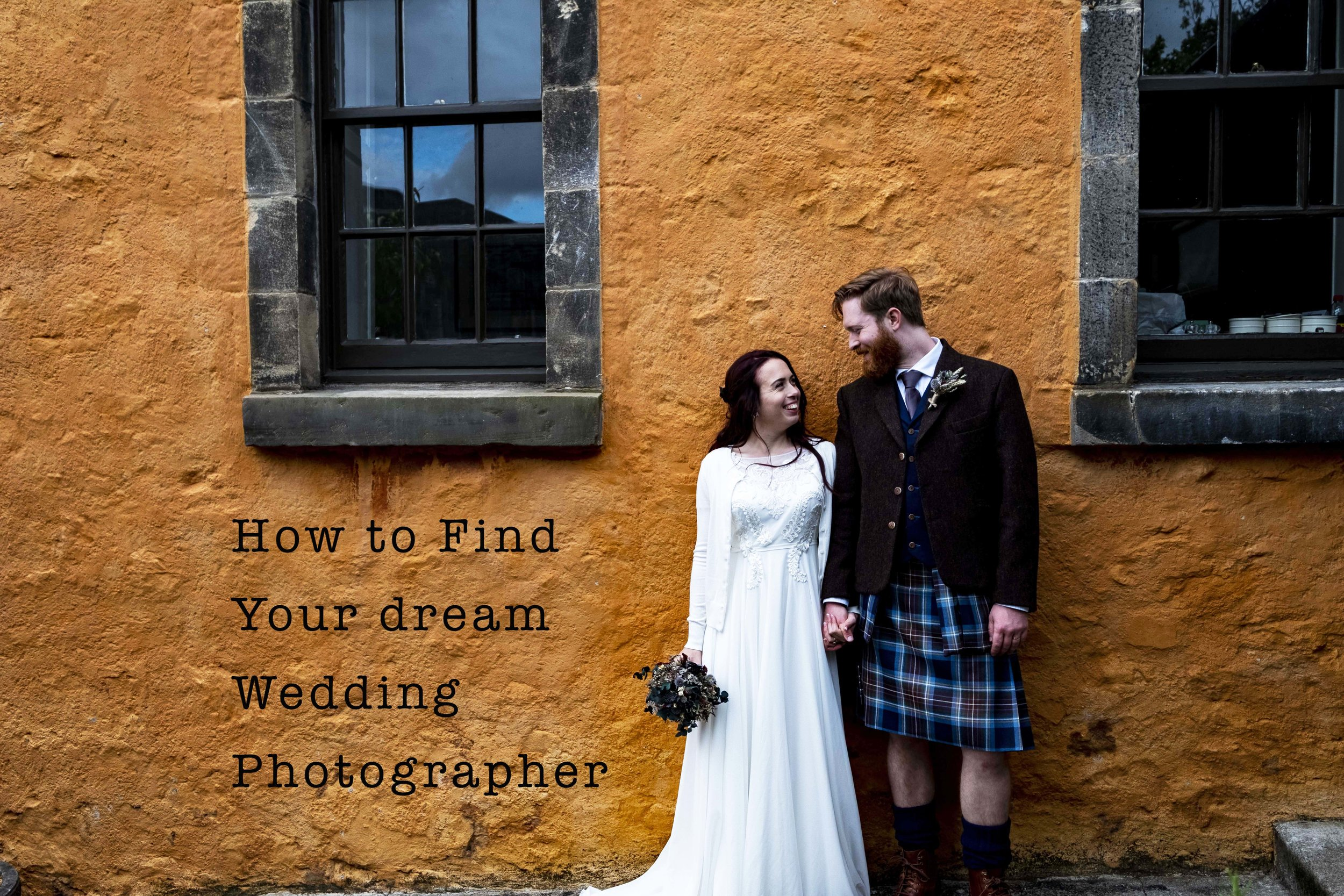 How to find a dream wedding photographer.