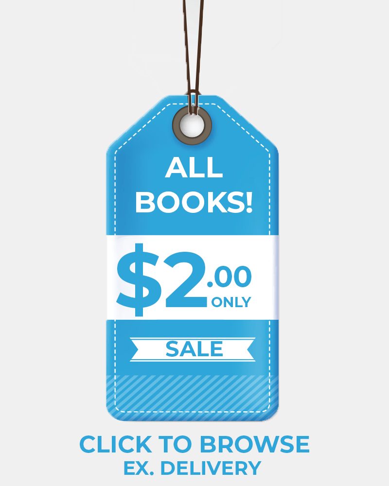 Click to explore all the titles on our bookshelf. All books are $2 + delivery!