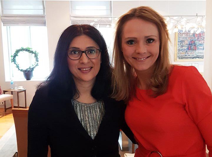 Linda Hofstad Helleland og Loveleen Brenna