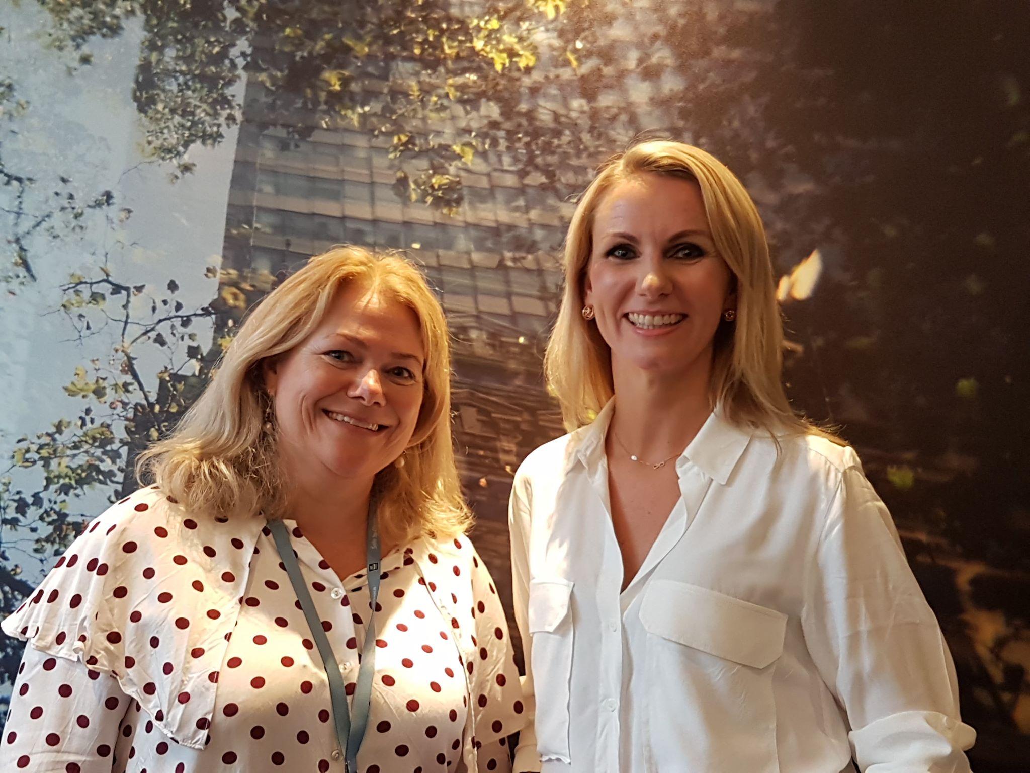 Lene Trollnes fra Yara og Monica Johannsen fra Kongsberg gruppen blir blant to av verdens første sertifiserte mangfoldsledere.