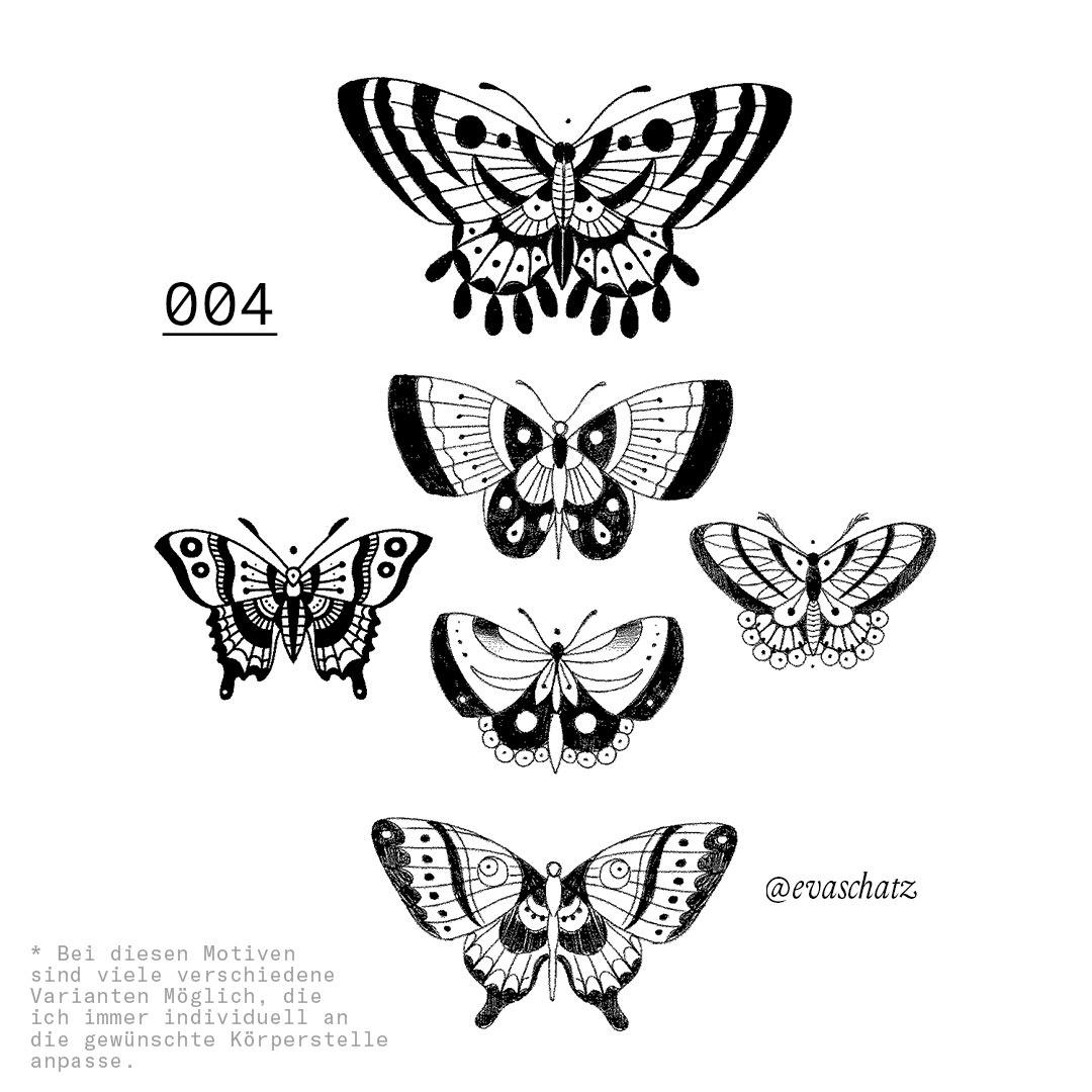 Copy of Butterfly Tattoo, Eva Schatz, MINT CLUB Tattoo Salzburg