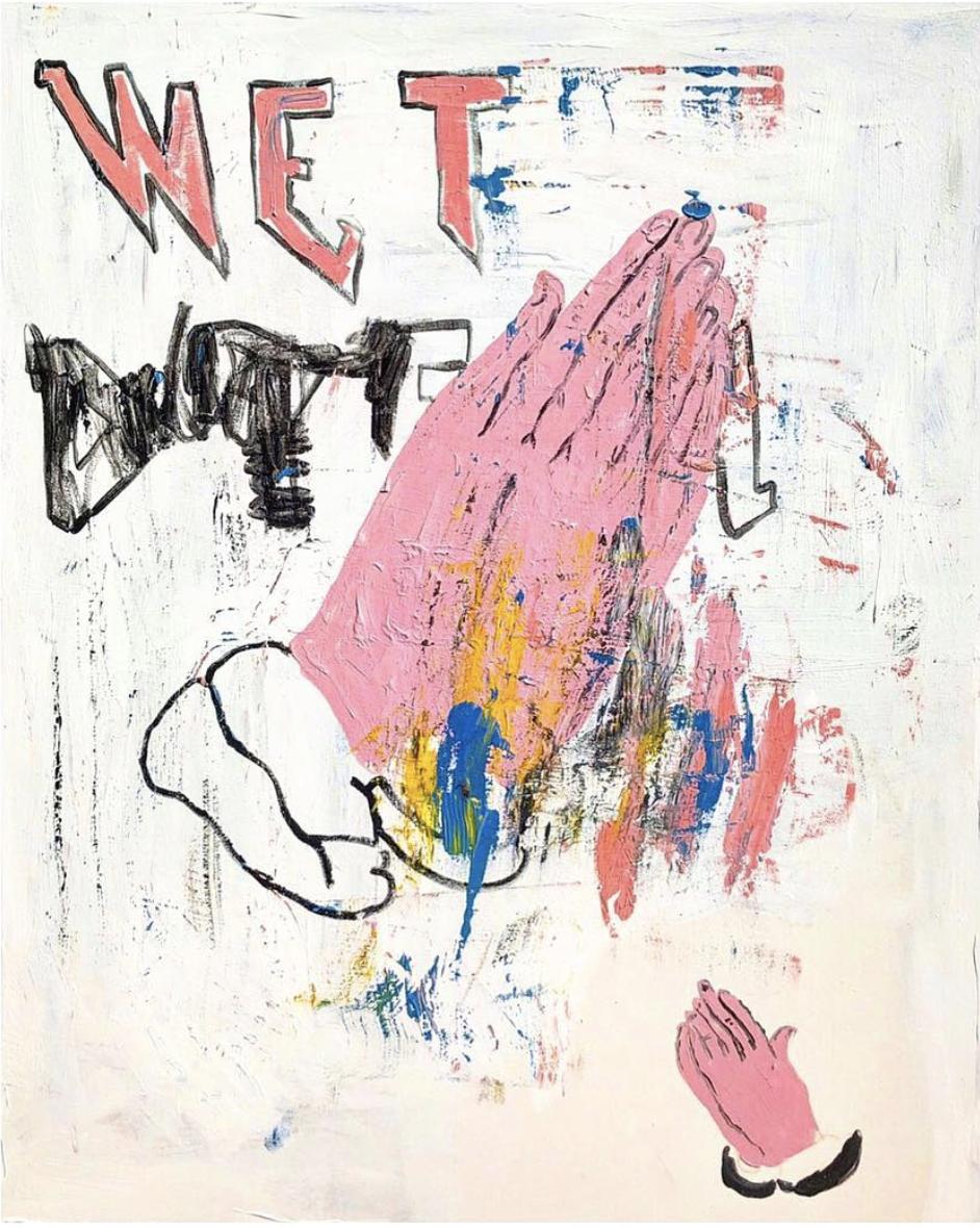 Richie Culver - Latest Work - Wet Dreams Die Hard.