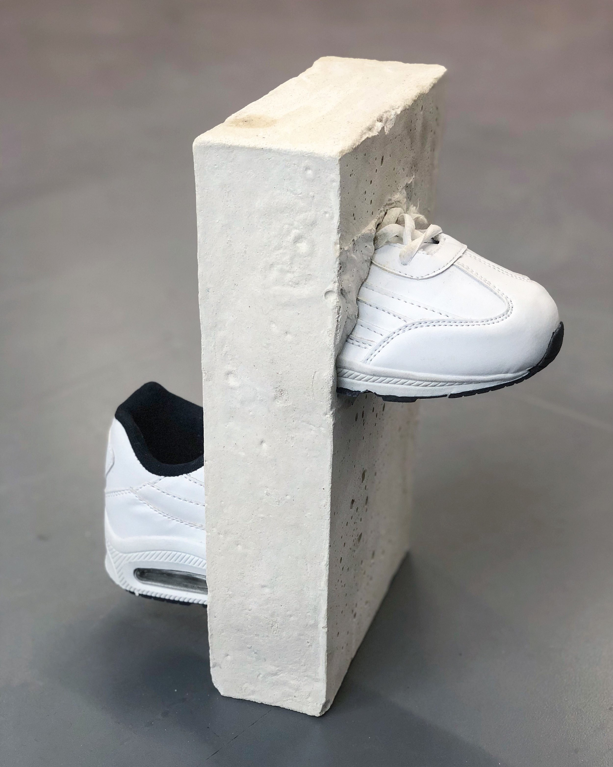 Richie Culver - Latest Works - Sneaker in Cement