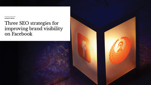 'Three+SEO+strategies+for+improving+brand+visibility+on+Facebook'+over+image+of+lamp+with+Facebook+symbol.jpeg