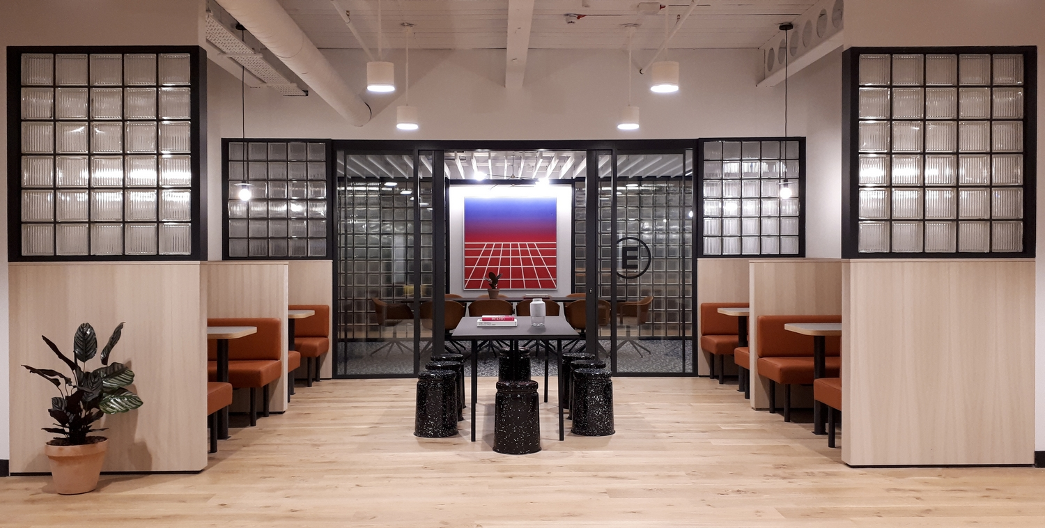 - WeWork's Andy Heath shows Cathy Buckmaster around a jawdropping space with plenty going on under the surface.