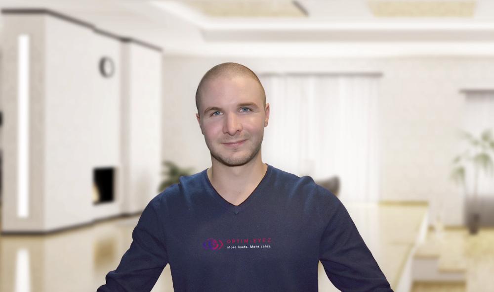 Portrait of influencer Sam Hurley