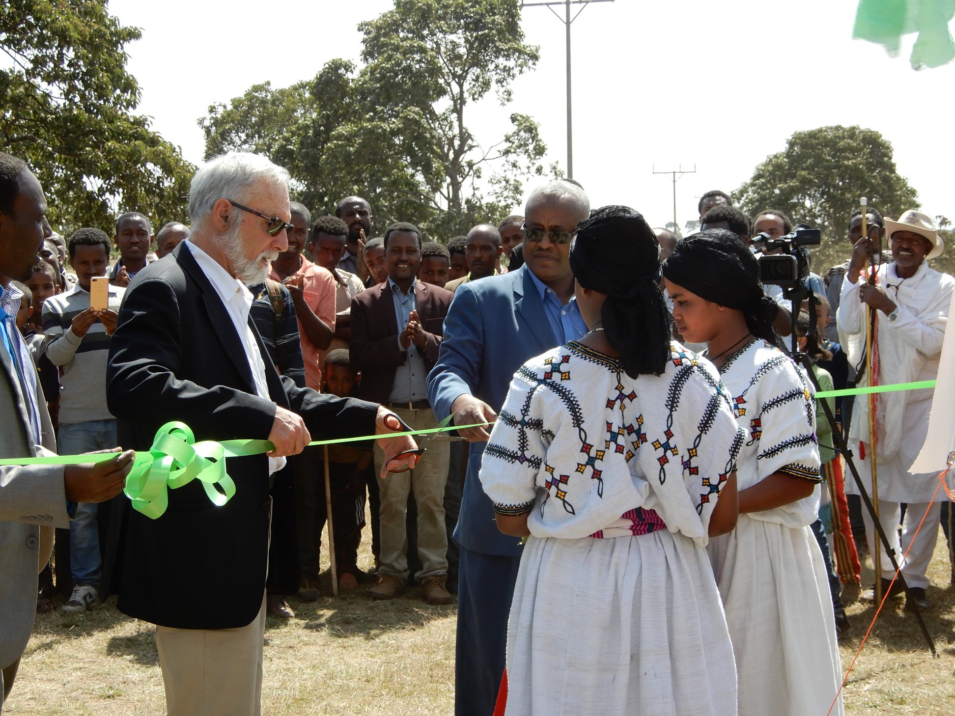 Opening of Gimjabet High School