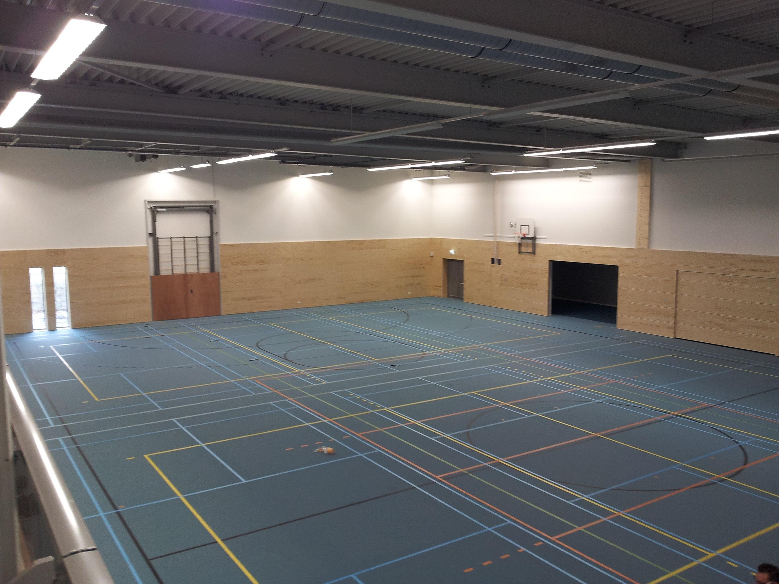 Sporthallen en zwembaden - De Sonans plaat is speciaal voor deze toepassing ontwikkeld in samenwerking met Metsä. Andere basismaterialen zijn ook door ons leverbaar.