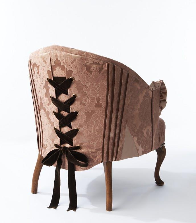 Girly Corset Chair