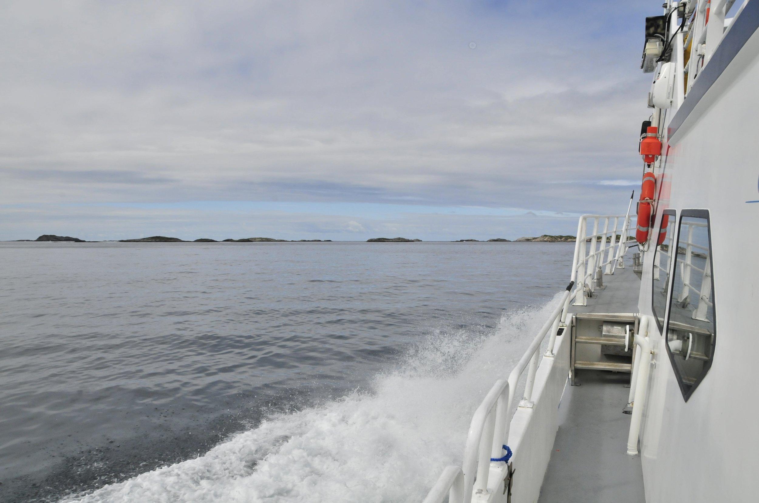 Hellesøy - Fedje - Hellesøy -