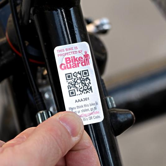 BikeGuard Sticker