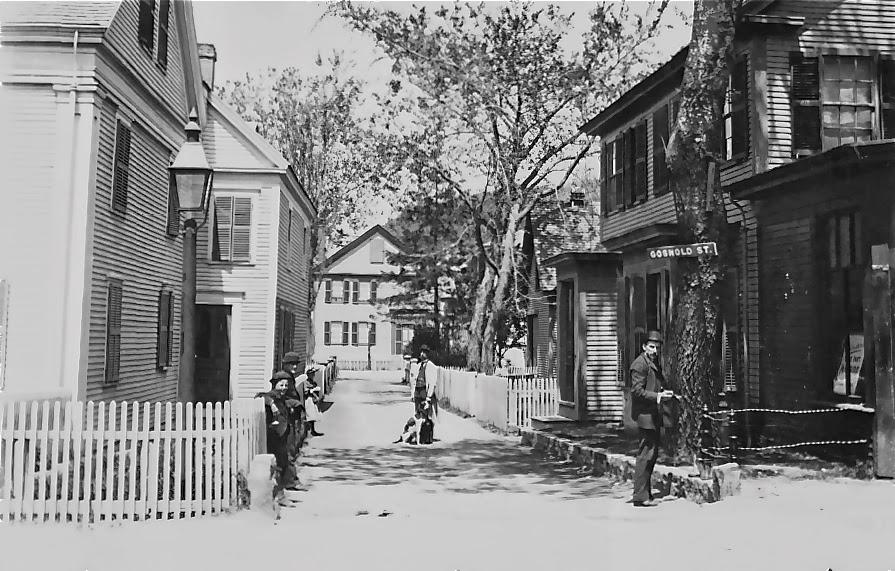 Gosnold Street, Provincetown, MA. Photo circa 1880.
