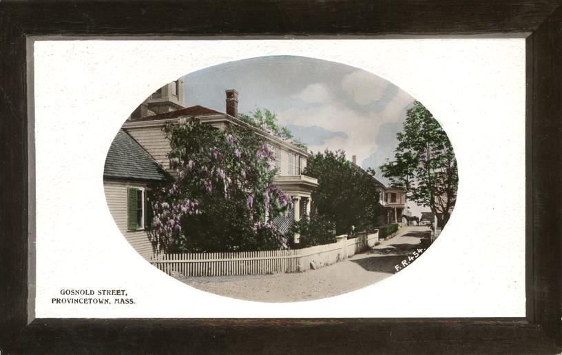 Gosnold Street, Provincetown, MA. Postcard circa 1920.