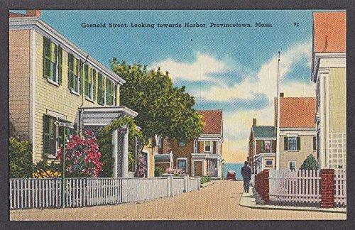 Gosnold Street, Provincetown, MA. Postcard circa 1930.