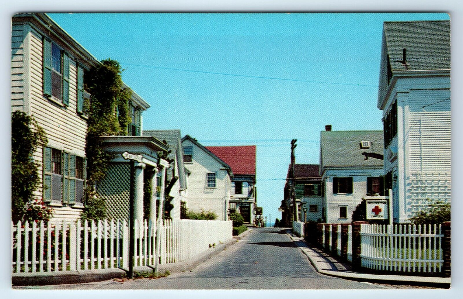 Gosnold Street, Provincetown, MA. Postcard undated (20th century)