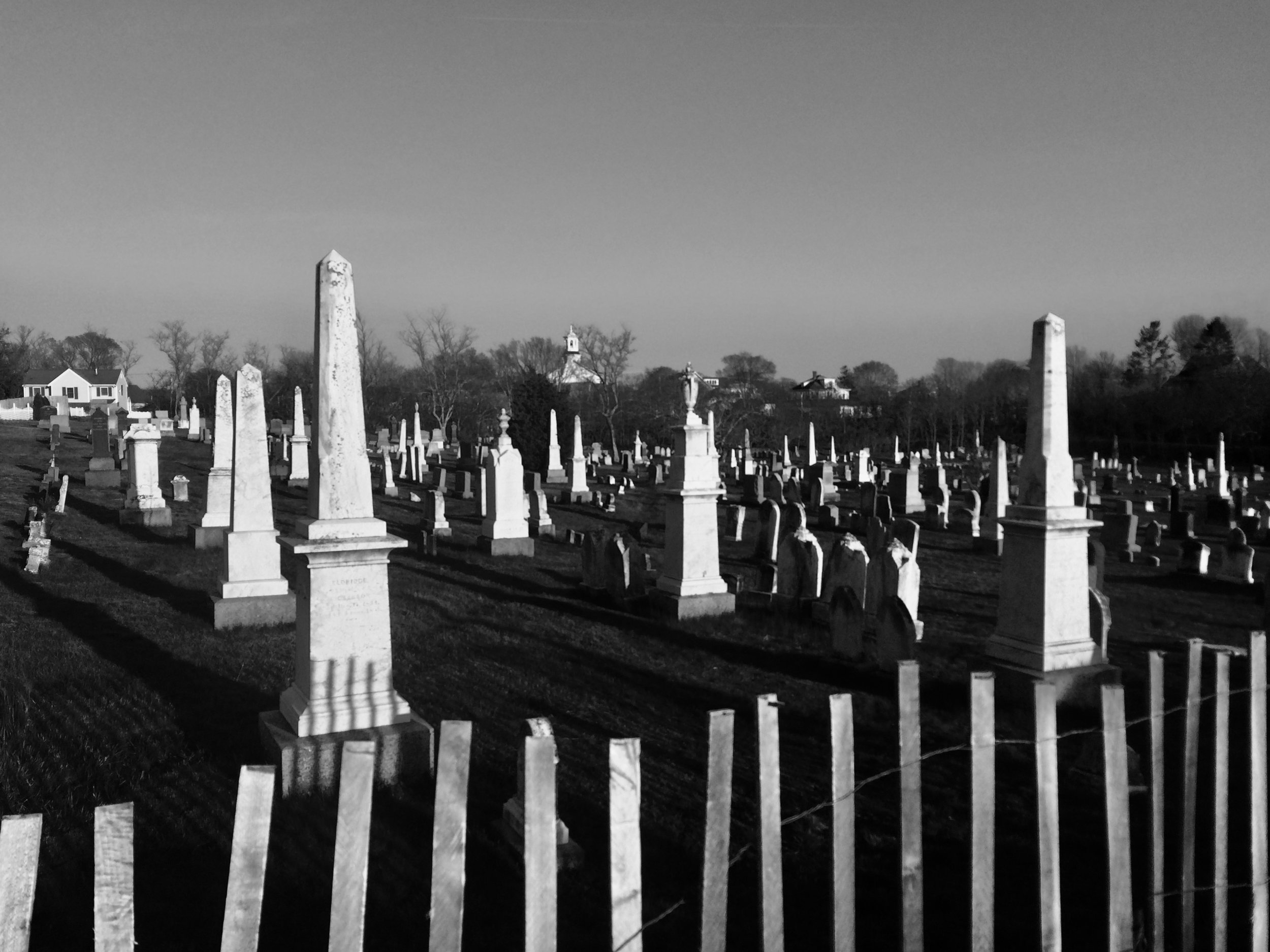 Provincetown's cemeteries contain gravestones dating back to the early 1700s, but we'll see burial sites centuries older…