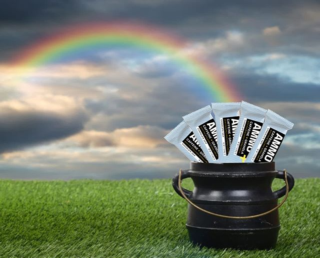 AMMO Bars…at the end of every rainbow! 🌈 ˙ Stock up on your #AMMO. ˙ Spread the love and order now. Click the link in our bio. ˙ REMEMBER: AMMO is an all-natural, gluten-free granola bar with 10 g of protein and 150 mg of CAFFEINE! ˙ ˙ ˙ #ammo #energy #caffeine #energyonthego #caffeineaddict #caffeinated #power #snack #healthy #bar #granola #energysnacks #dinner #proteinbar #lifehacks #healthysnacks #healthyfood #changelives #ny #natural #protein #training #working #office #foodie #morningfuel #afternoonsnack #preworkout