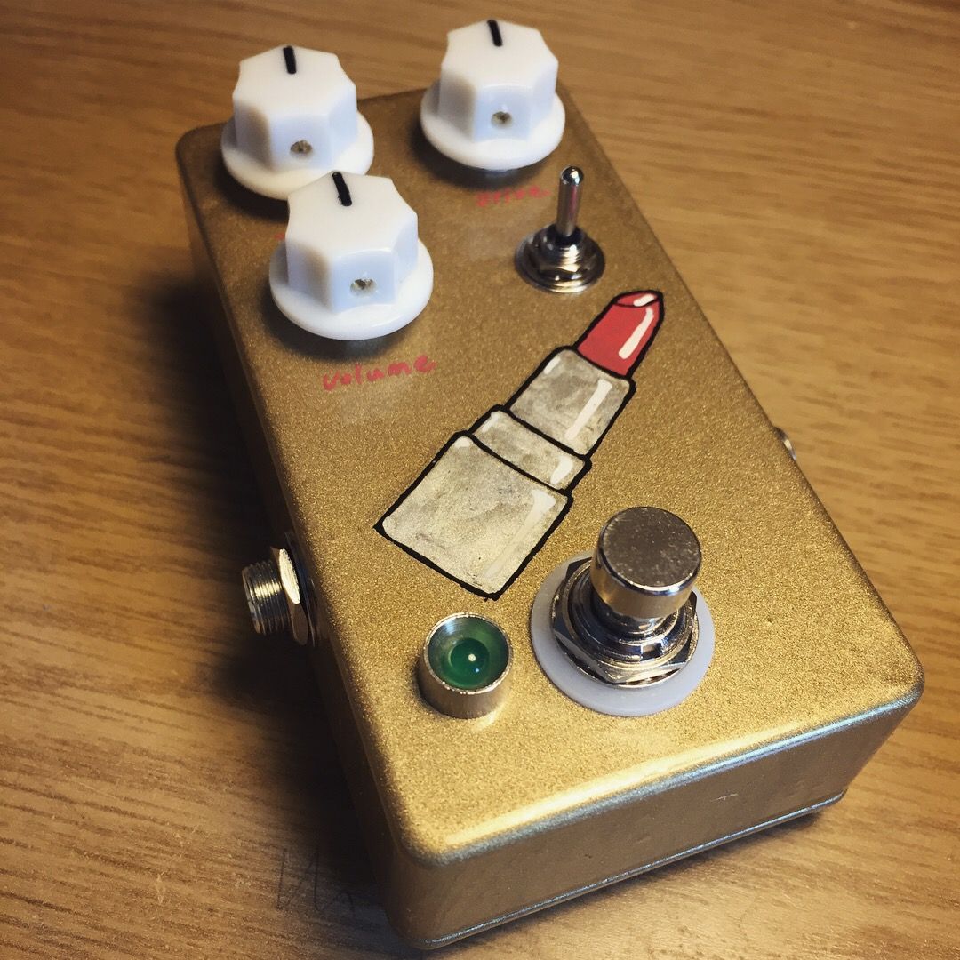 Custom drive pedal for Ezra Furman