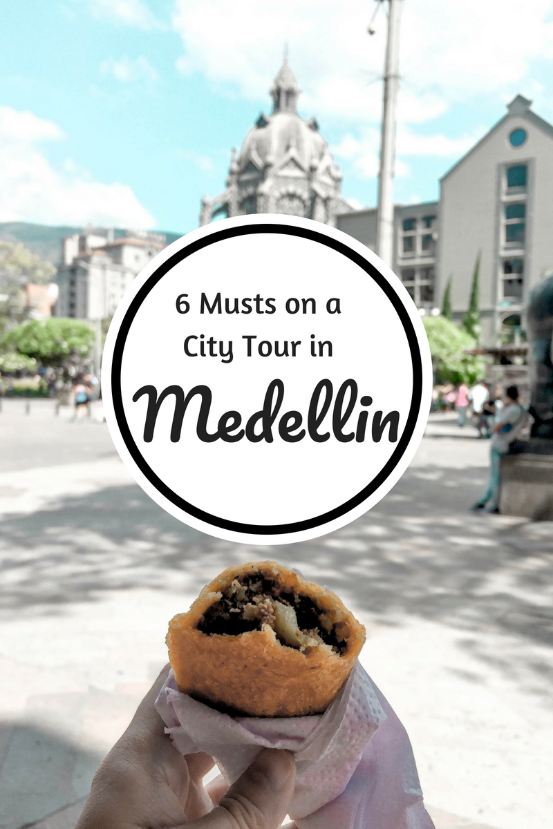 6 Musts on a City Tour in Medellin