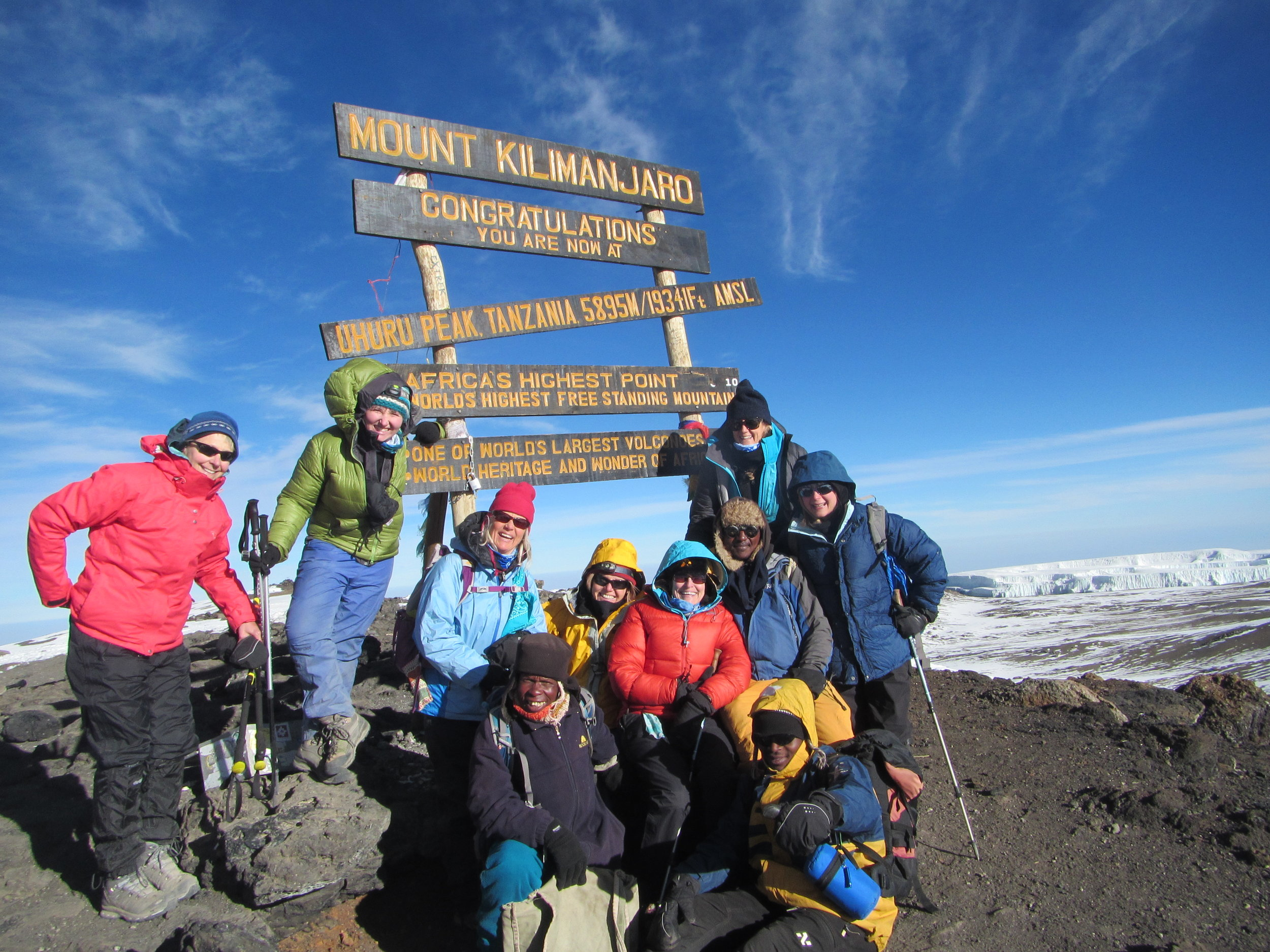 Hiking Mount Kilimanjaro: Day 6 We reached The Roof of Africa, Uhuru Peak!