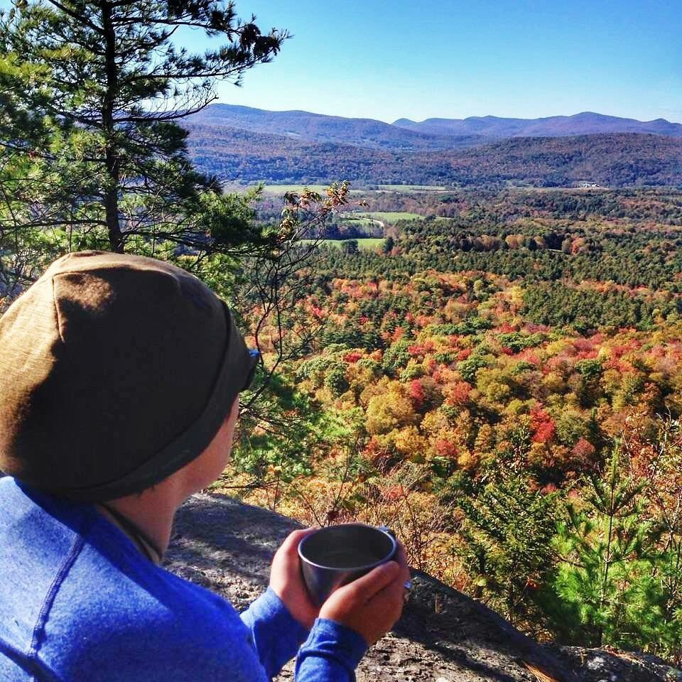 Hiking in Manchester Vermont
